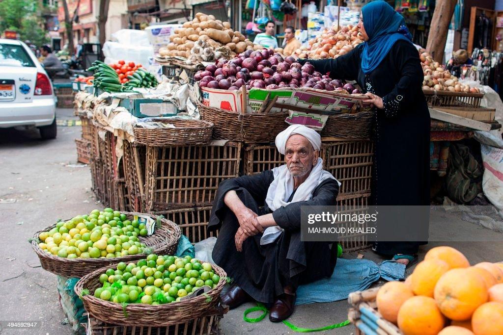 EGYPT-ECONOMY-VOTE-ECONOMY : News Photo