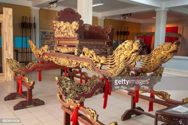 An eighteenth century Kieu Go Son Thep palanquin Danang Museum of Cham Sculpture Danang Vietnam