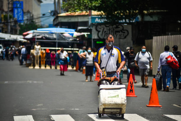 SLV: Daily Life In San Salvador On Grandparent's Day