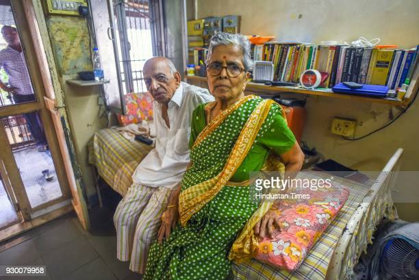An elderly couple inside their house at Girgaum In December 2017 they wrote to the President seeking permission for 'active euthanasia' on March 9...