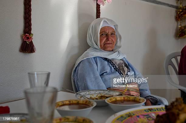 CONTENT] an elderly Palestinian woman in Ramallah West Bank