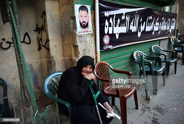 An elderly relative of Samer Huhu , who was killed in a twin bombing attack that rocked a busy shopping street in the area of Burj al-Barajneh,...