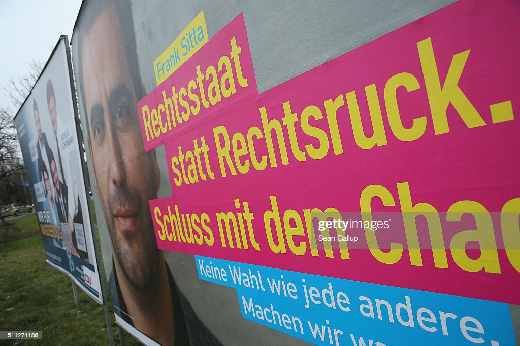 Saxony-Anhalt Prepares For State Elections : News Photo