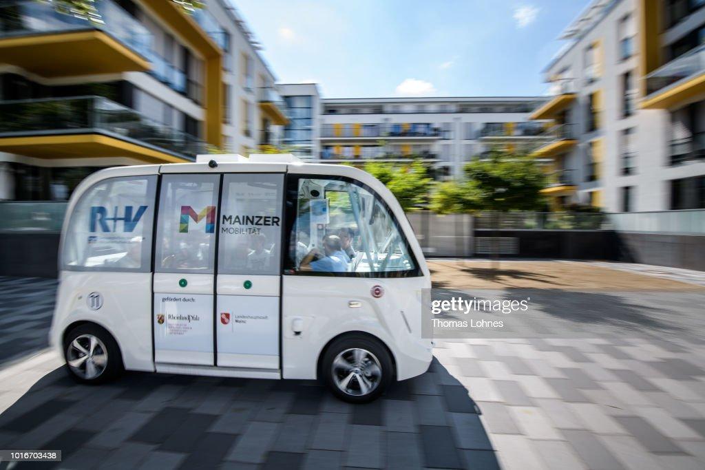 City Of Mainz Tests Electric Autonomous Bus