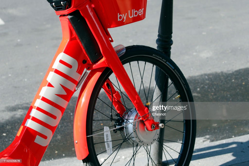 An electric bike from the bike and scooter sharing company
