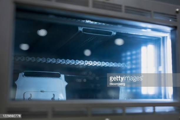 An electrode drying oven at the U.K. Battery Industrialization Centre in Coventry, U.K. On Monday, Nov. 9, 2020. The Centre is a 130 million pound...