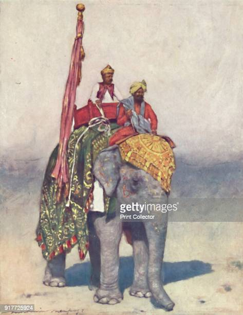 'An Elephant from Jaipur' 1903 Also known as the Imperial Durbar the Delhi Durbar was held three times in 1877 and 1911 at the height of the British...
