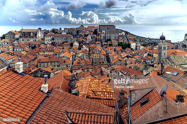 An Elevated View of Dubrovnik Old Town