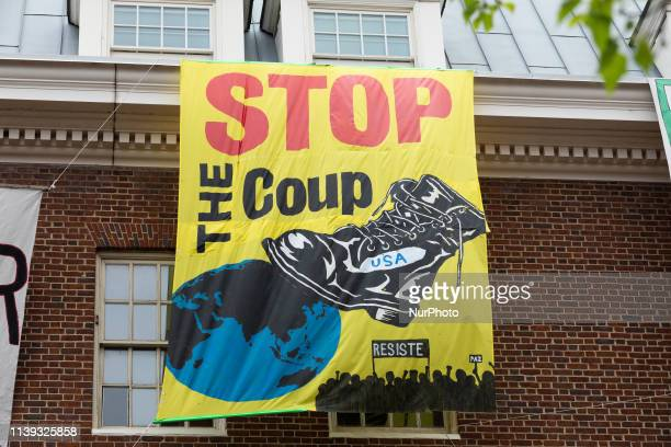 An Embassy Protection Collective of US activists are continuing to occupy the Venezuelan embassy of Washington DC in order to prevent its seizure by...