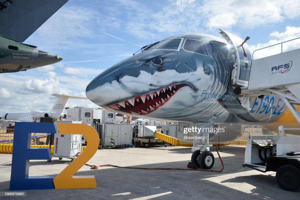 Day Two Of The Farnborough International Airshow 2018