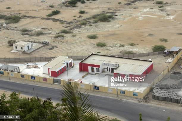 An emergency care centre for Chinese workers stands in Gwadar Balochistan Pakistan on Tuesday July 4 2018 What used to be a small fishing town on the...