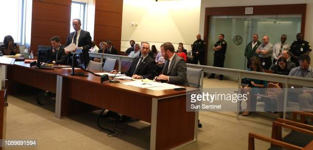 An emergency hearing held at the Broward County Courthouse in Fort Lauderdale, Fla., between the National Republican Senatorial Committee, Rick Scott...