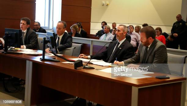 An emergency hearing held at the Broward County Courthouse in Fort Lauderdale, Florida between the National Republican Senatorial Committee, Rick...