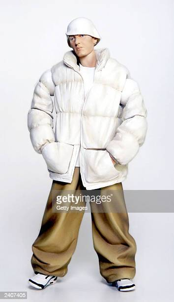 An Eminem doll manufactured by Art Asylum is set to be released this year The lifelike doll has the rapper's tattoos recreated in detail including...
