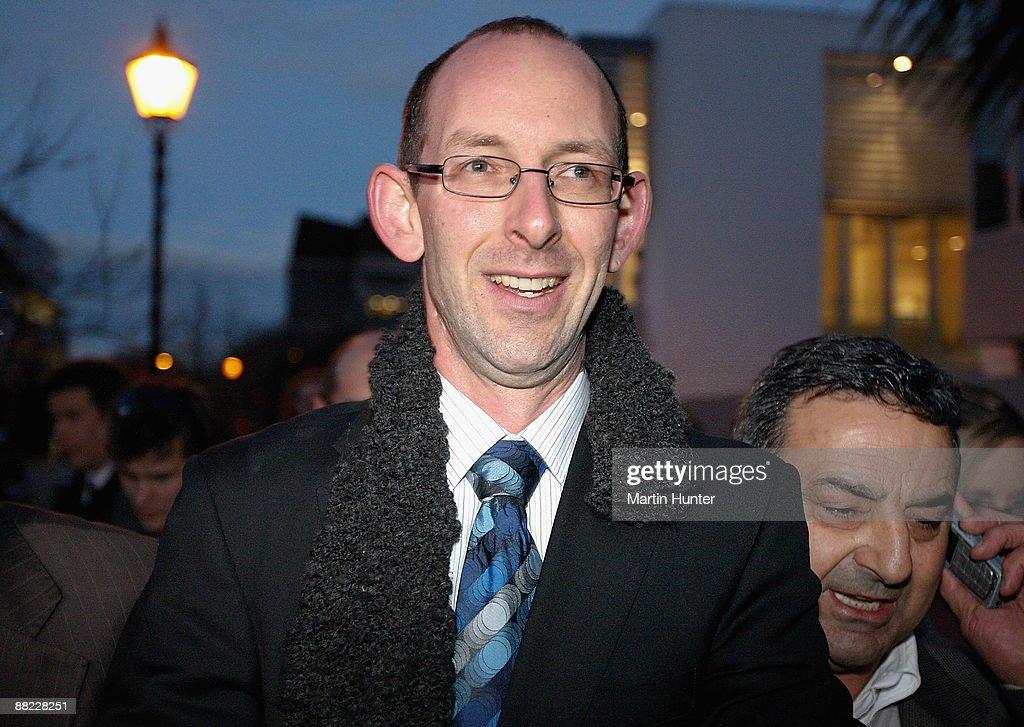 David Bain Found Not Guilty : News Photo