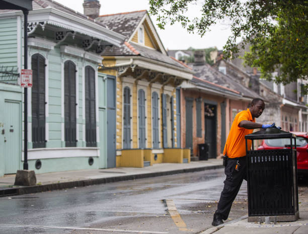 LA: New Orleans Shelters-In-Place As Louisiana Covid-19 Cases Top 17,000