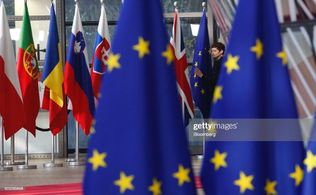 European Union Leaders Discuss Post-Brexit Budget Gap At EU Summit