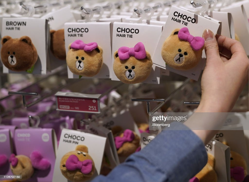 JPN: Shoppers at Line Friends Japan Store As CPI Figures Released