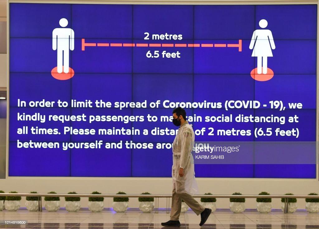 UAE-HEALTH-VIRUS : News Photo
