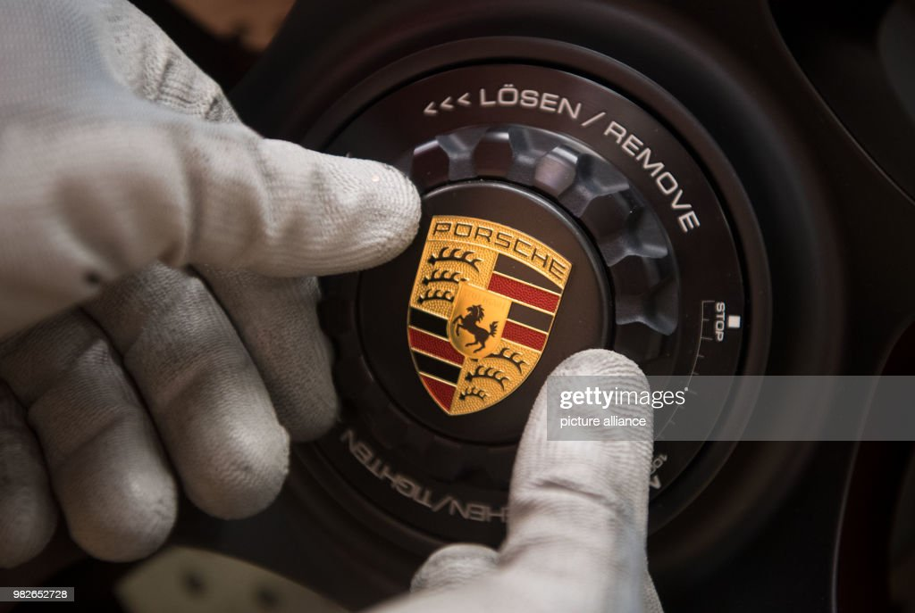 Porsche Manufacturing Pictures Getty Images