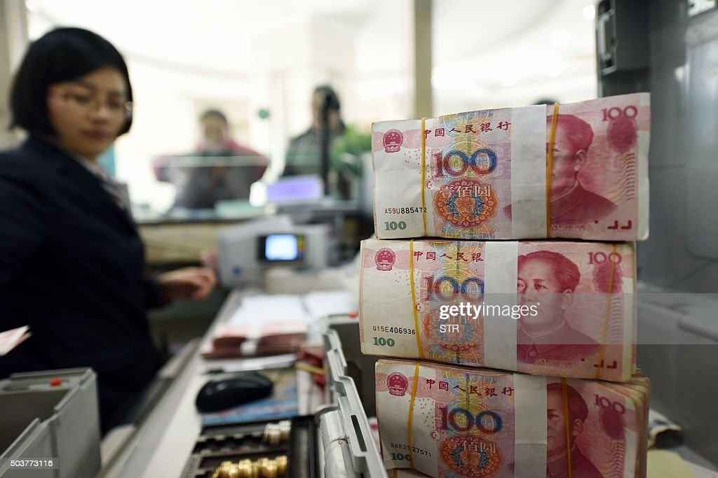 CHINA-ECONOMY-FOREX : News Photo
