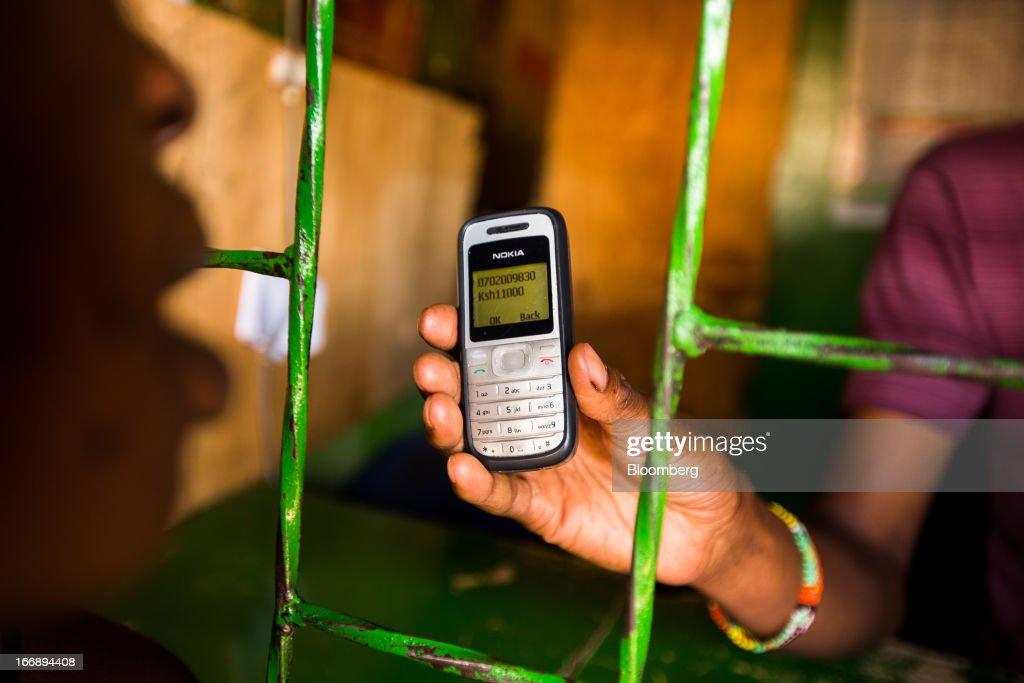 M-Pesa Africa's Mobile Money Market : News Photo
