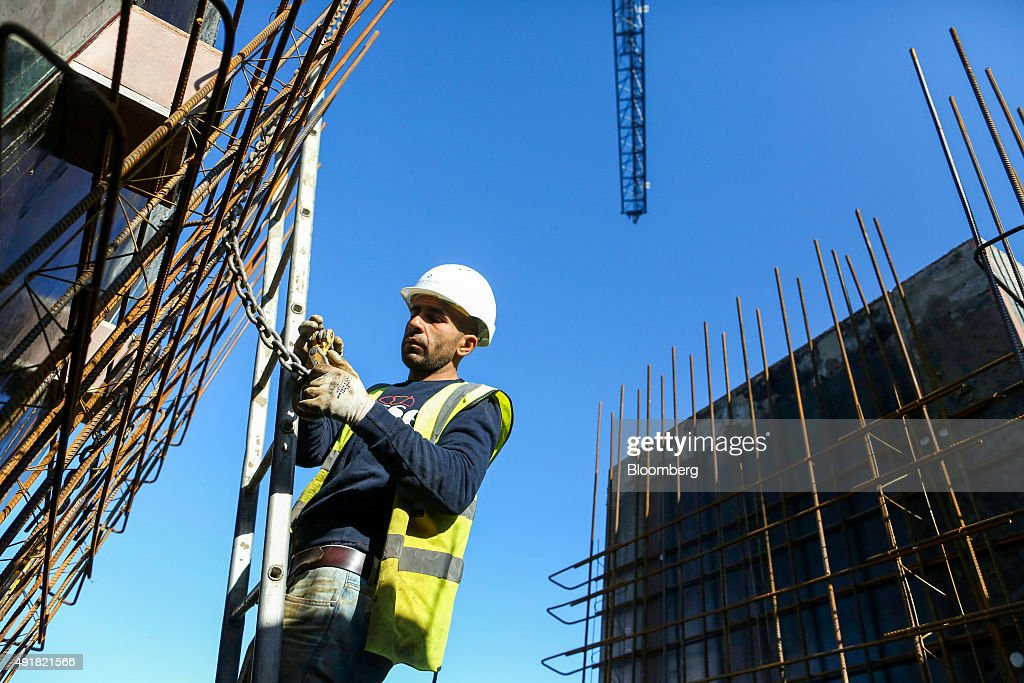 U.K. Residential Construction As Housing Market Activity Picked Up In September : News Photo