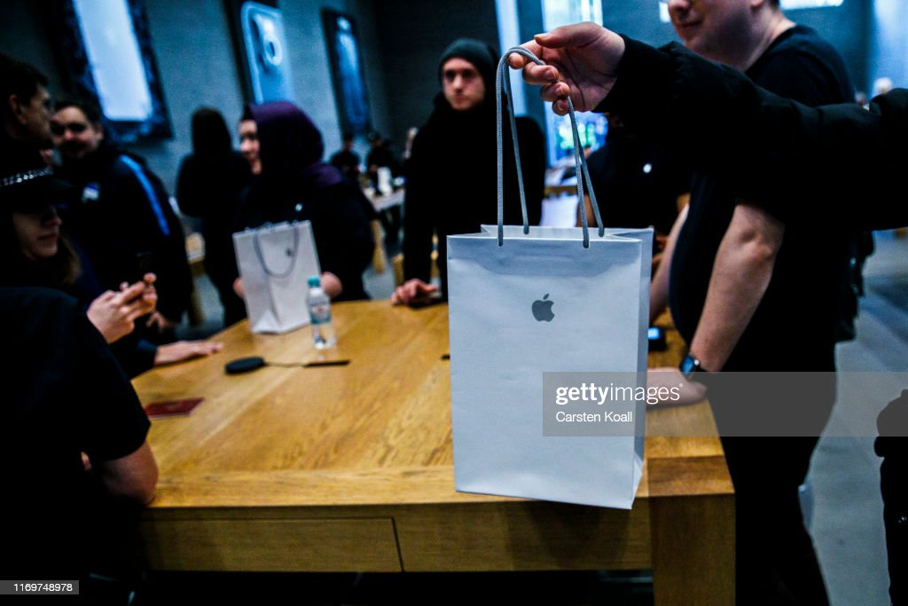 Apple Begins Selling New iPhone 11 In Berlin : News Photo