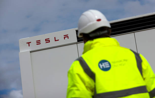 GBR: Installation of Megapack Batteries At Biggest U.K. Project to Use Tesla Inc. Batteries