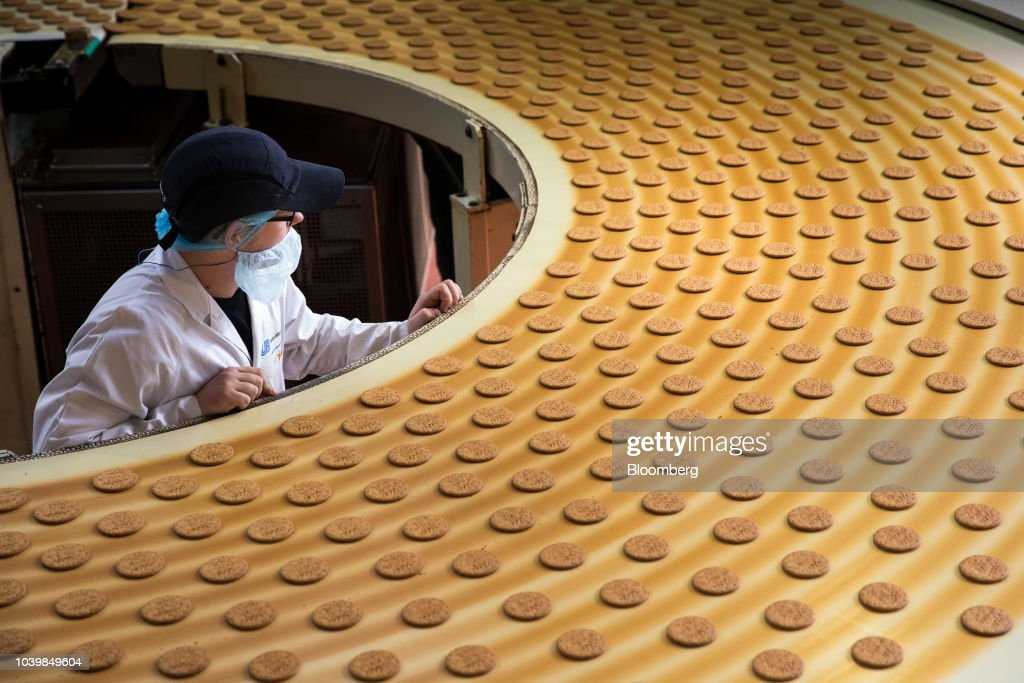 McVitie's Biscuit Manufacturing At Pladis Food Ltd. Factory