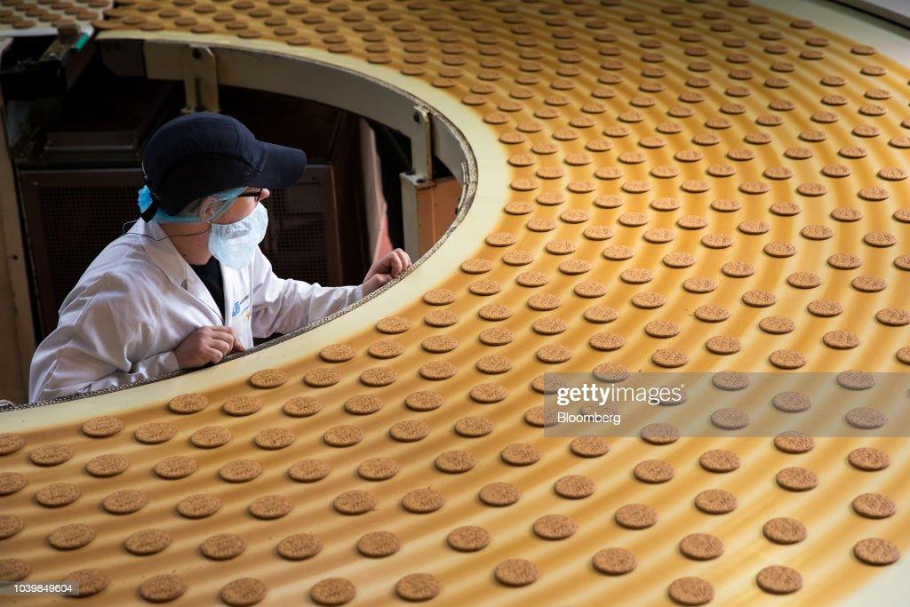 McVitie's Biscuit Manufacturing At Pladis Food Ltd. Factory