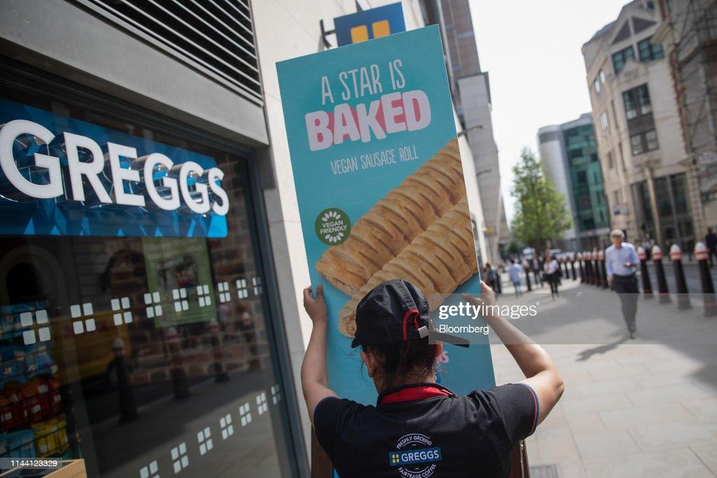 GBR: Greggs Plc Soars as Vegan Sausage Rolls Drive U.K. Chain's Sales