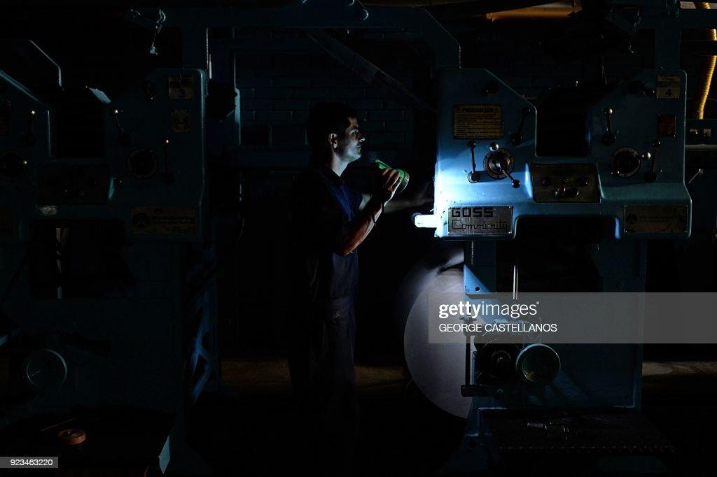 VENEZUELA-CRISIS-ENERGY-BLACKOUT : Fotografía de noticias