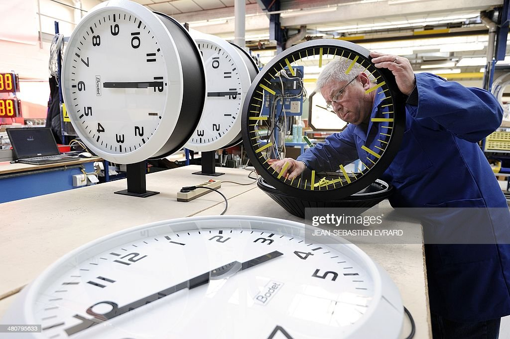 FRANCE-TIME-BODET-FEATURE : News Photo