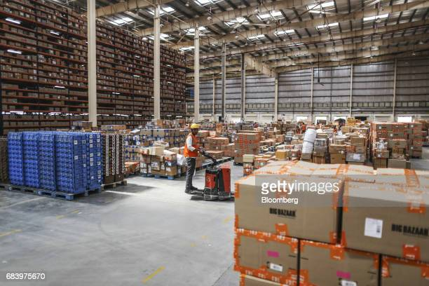 48 Operations At A Future Group Warehouse As Chairman