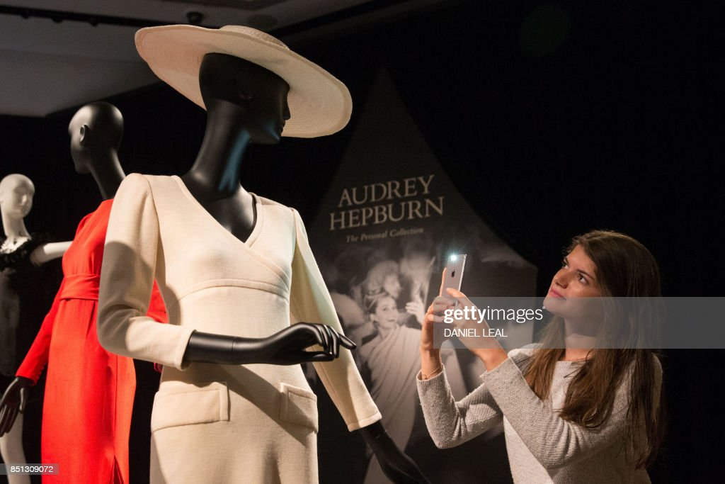 Some of Audrey Hepburn's outfits and personal possessions are up for grabs. But be prepared to pay. Her own copy of the script for 'Breakfast At Tiffany's' is expected to reach up to $120K