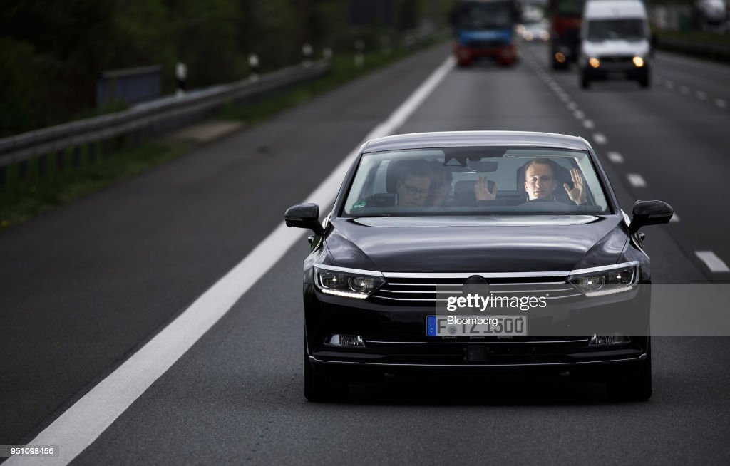 "Continental AG Demonstrate  ""Cruising Chauffeur"" Automated Driving On An Autobahn"