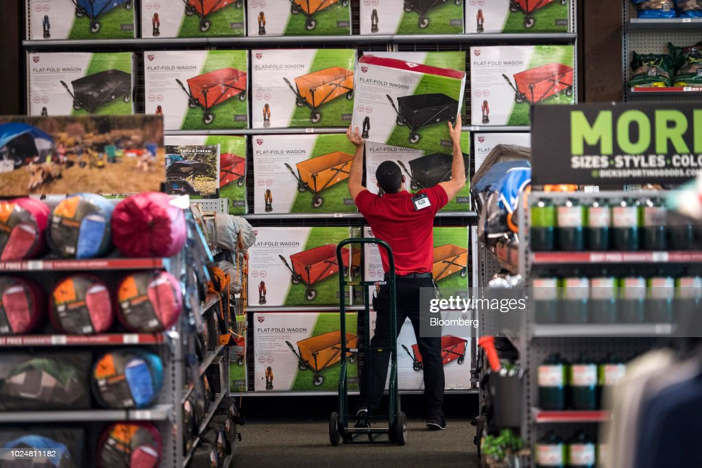 an employee restocks quest flat fold wagons at a dick s sporting news photo getty images https www gettyimages com detail news photo an employee restocks quest flat fold wagons at a dicks news photo 1024811182