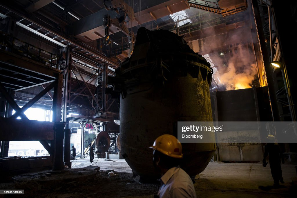 Operations at the Jindal Stainless Ltd. Plant