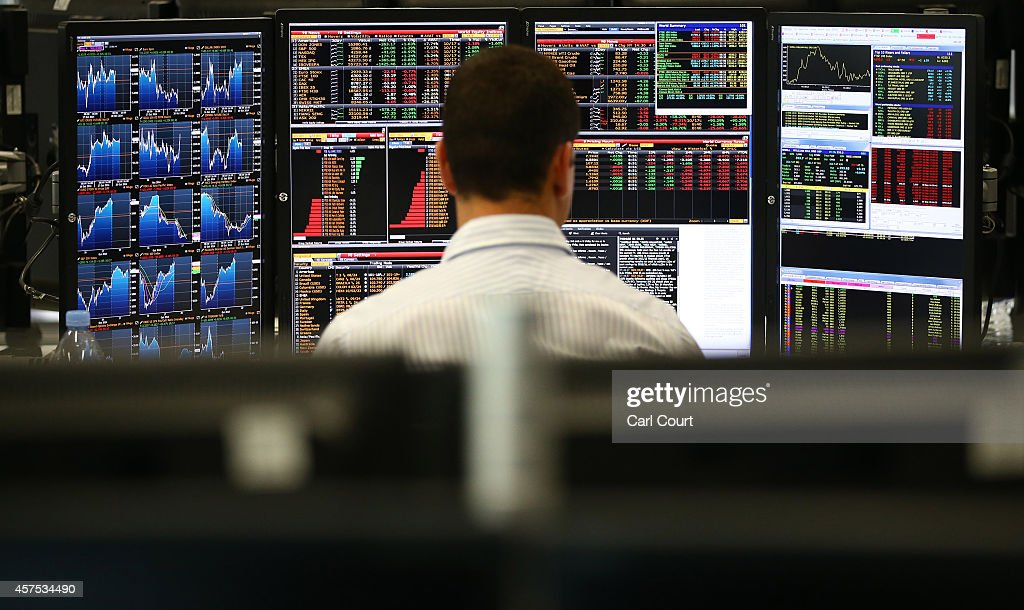 Markets Stabilise After Turbulence Last Week : News Photo