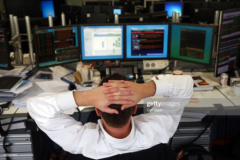 Markets Stabilise After Turbulence Last Week : News Photo