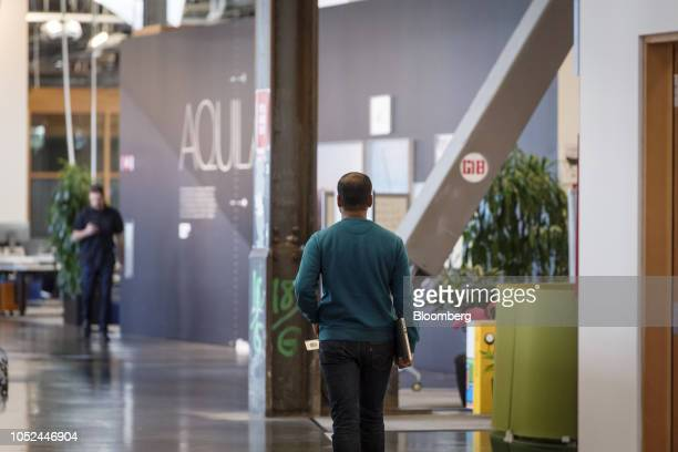 An employee walks inside Facebook Inc headquarters in Menlo Park California US on Wednesday Oct 17 2018 Even if it's not a full solution the election...