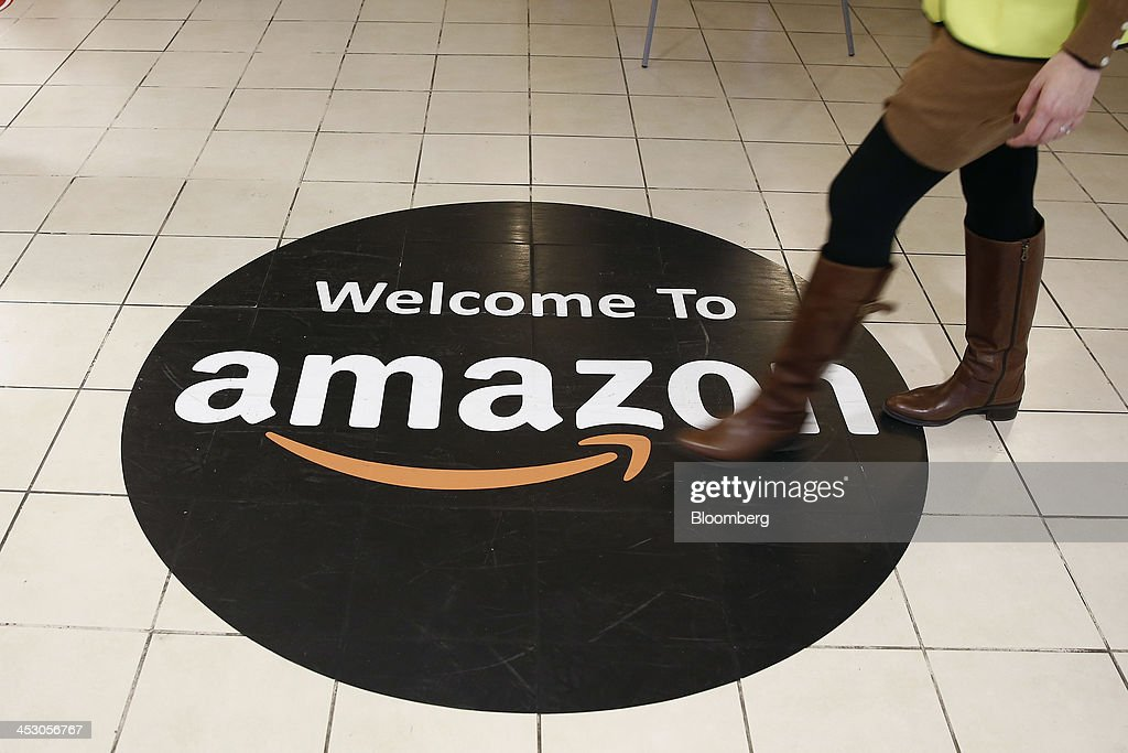 Operations At An Amazon.com Inc. Fulfillment Centre And An Argos Distribution Warehouse On Cyber Monday : News Photo