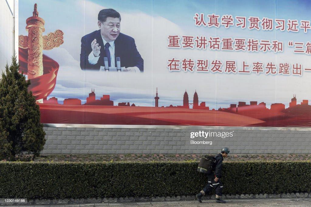 Operations At Yangquan Coal Industry Group Co.'s Xinyuan Coal Mine : News Photo