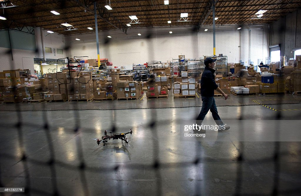 Operations Inside The 3D Robotics Inc. R&D And Manufacturing Facilities : News Photo