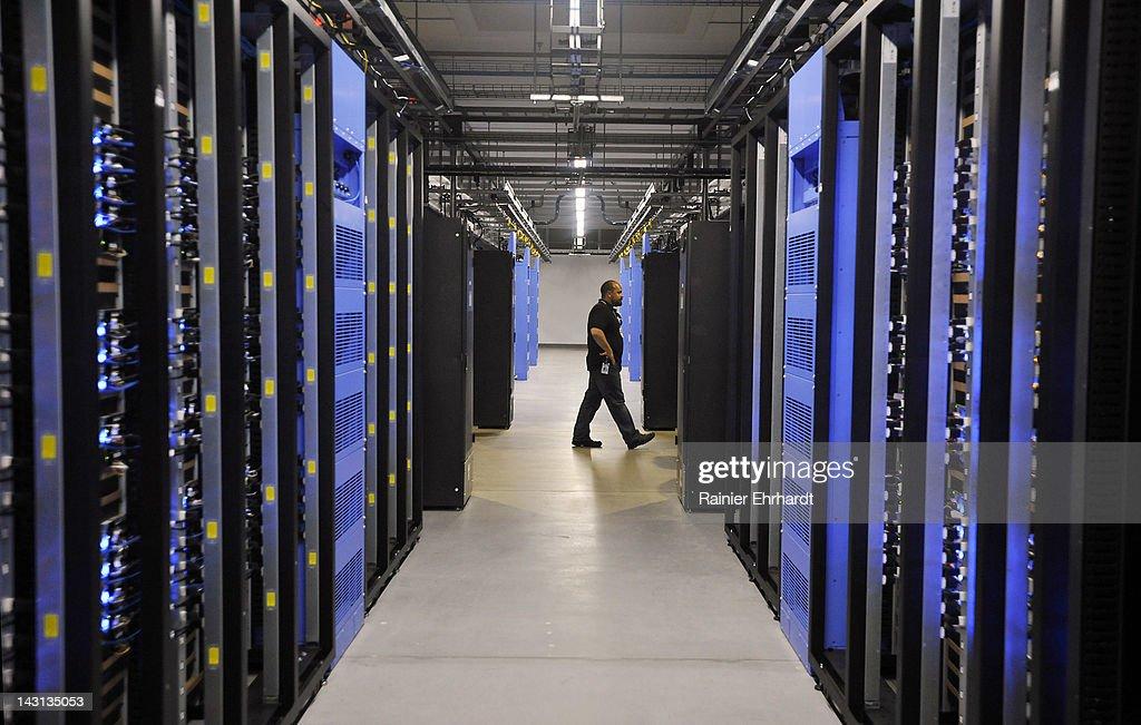 Facebook Opens Data Center In North Carolina : News Photo