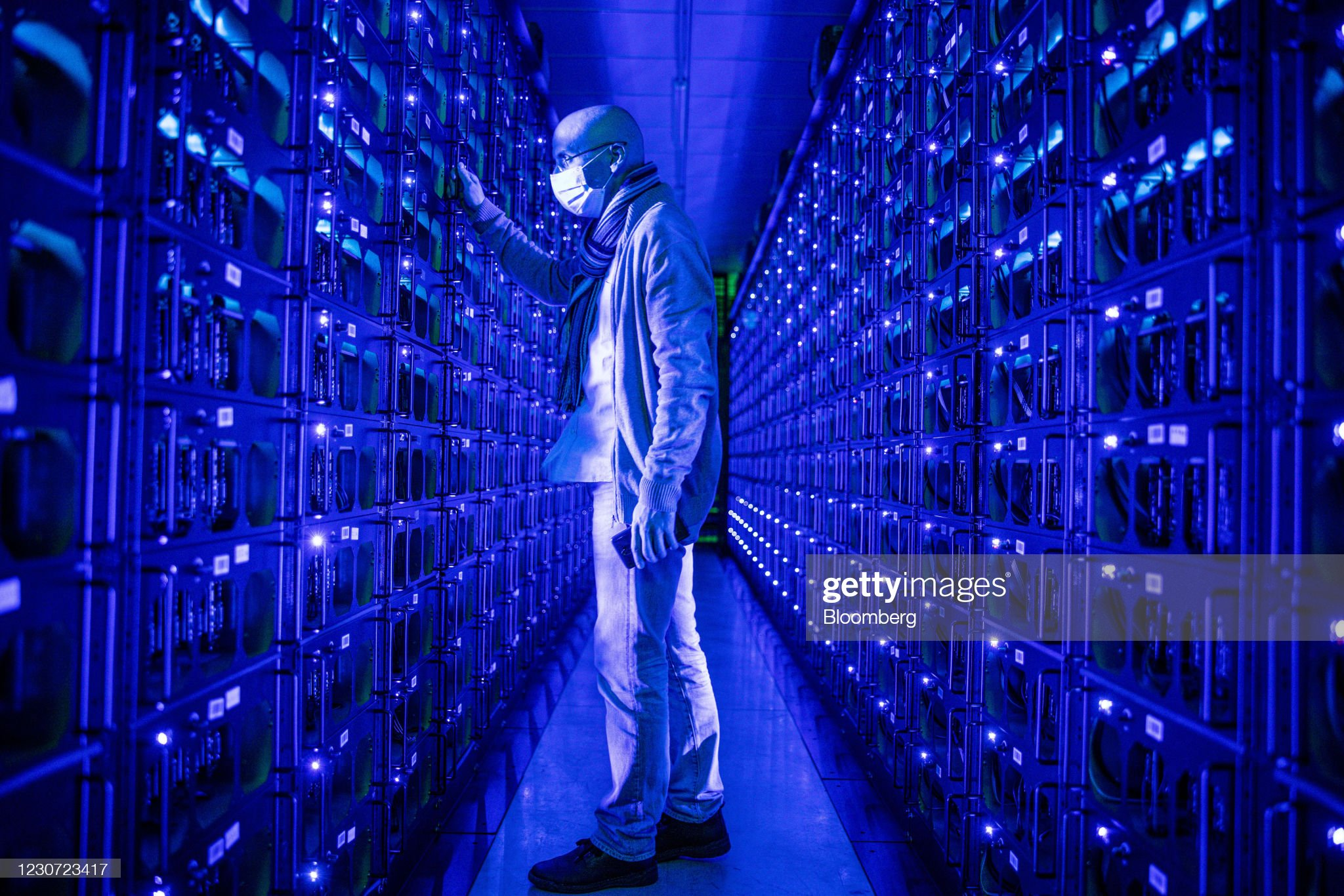Mining the Worlds Second-most-valuable Cryptocurrency at Evobits I.T SRL : News Photo