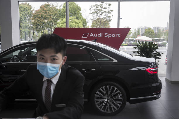 CHN: Audi Dealership As Car Boom inWuhanHolds Out Hope for Post-Lockdown Recovery