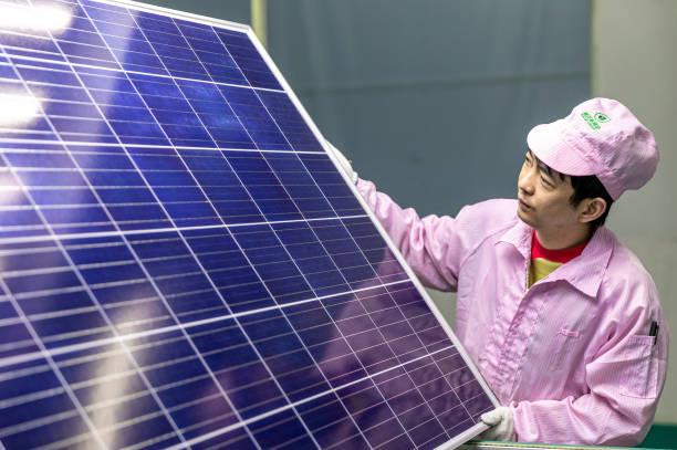 CHN: Solar Panel Manufacturing In Hai'an