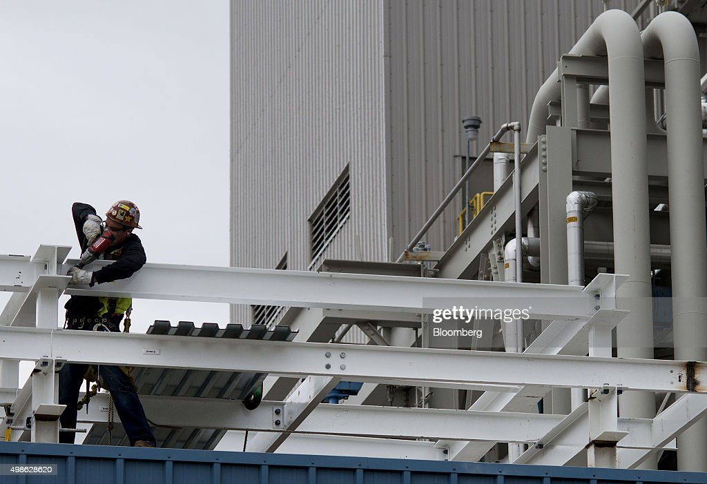 Inside The AEP Appalachian Co. Natural Gas Combined Cycle Plant : News Photo